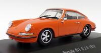 Atlas Editions 1/43 Scale 7 114 010 - 1972 Porsche 911 S 2.4 - Orange