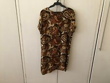 Alice & You Paisley Print Short-Sleeved Dress Size 18