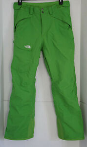 The North Face HyVent Ski / Snowboard Pants, Green, Insulated, Size Medium