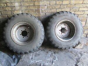 Vredstein 12ply Floatation tyres 16.0/70-20 Marshall muck spreader