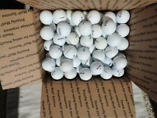 100 used Major mfg premium balls white golf balls slight imperfections
