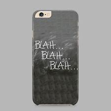 Blah Blah Blah Quote Cheeky Phone Case Cover