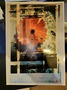 LIMITED EDITION PHOTOGRAPHIC ART PRINT 2/100.  SIGNED.  UNFRAMED.