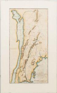 Revolutionary War Map of New York City Area