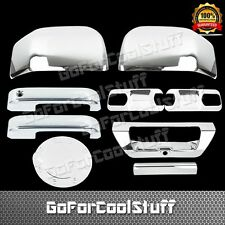 2015 Ford F-150 2Drs+Base Plate+Mirror+Tg W/Camerahole+Gas Chrome Covers
