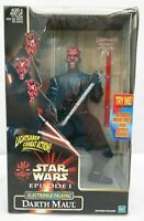 Star Wars Episode 1 Electronic Talking Darth Maul 12 Inch Action Figure  TY