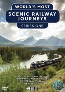 The World's Most Scenic Railway Journeys: Series 1 DVD Narrated by Bill Nighy