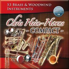 NEW Best Service Chris Heins Horns Compact Virtual Instrument Sampler