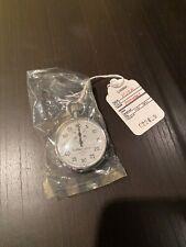 Hanhart Premier 7 Jewels Shockproof 60 Sec. Mechanical Stopwatch Looks New.