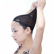 Kids Girls Hair Fancy Party WIG NET Fishnet Stretchable Snood Mesh Weaving Cap