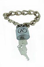 SID R Padlock Medium Chain Wristband