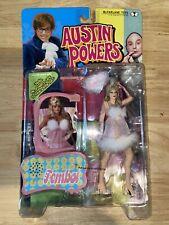1999 McFarlane Toys Austin Powers Talking Action Figure Fembot R23