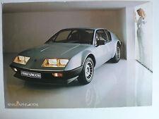 Prospekt Renault Alpine A 310 V6, ca.1984, 2 Seiten