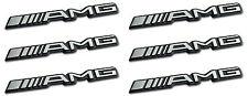 6x AMG sticker emblema logotipo pegatinas mercedes c CL CLS e s SL SLK ml GL B 63 gle