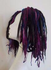 Laine dreads cheveux court automne noir bordeaux festival goth kawaii harajuku cosplay
