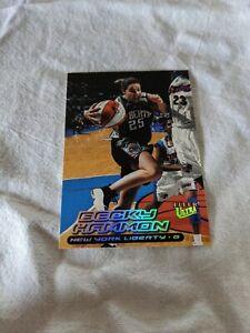 2000 Fleer Ultra WNBA Becky Hammon Rookie. Spurs Assistant Coach. Nice!