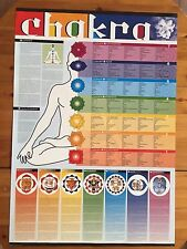 CHAKRA DESIGNED BY DE' FLUMERI MARIANI  AUTHENTIC 2005 POSTER IN 5 LANGUAGES