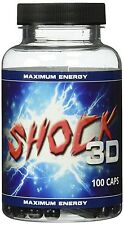 Shock3D Pre Workout Booster Fokus Tunnelblick Testo Booster Testosteron Booster