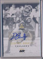 DEONTAY BURNETT - 2018 Luminance GOLD ROOKIE AUTO /99 - Titans RC