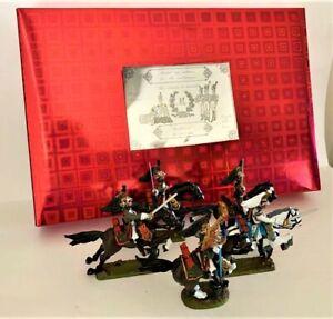 Mulberry Miniatures Napoleonic Empress Dragoons - Waterloo -  5 figures