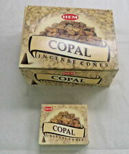 Hem 12 Packets 120 Cones Copal Incense Cones Fragrance Free Postage