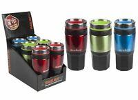 Summit 14oz/400ml Insulated Drinks Travel Mug Grip Outdoor - 1 Unit Green Mug