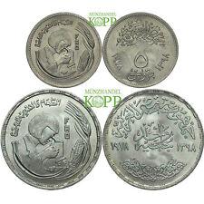 R210) ÄGYPTEN 5 Piaster + 1 Pfund 1978  - MDM Zertifikat und Beschreibung F.A.O.