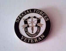 Special Forces Veteran Hat Pin  1""