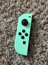 Tested! Nintendo Switch Left Mint Green Animal Crossing Joy Con ONLY! READ!