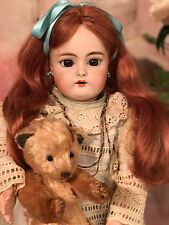 Antique Rare  Simon Halbig bisque head   Doll 38 cm