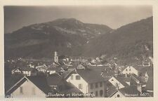 Bludenz Vorarlberg AK ALT PANORAMA ALPI AUSTRIA 1609182