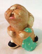 "Vintage Pendelfin Hand Painted Stonecraft ""Barney"" Rabbit England"