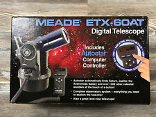 Meade Etx-60At Digital Refractor Telescope w/ Autostar Computer Controller New