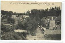 1 CPA 91 Essonne Epinay-Sur-Orge Vue d ensemble du Chemin des Meuniers