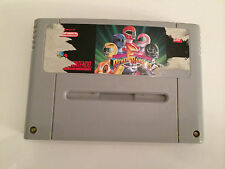 Super Nintendo SNES Spiel - Power Rangers