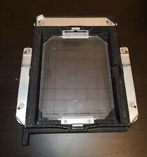 Sinar 4x5 Spring Film Back Holder w/Ground Glass Focusing Screen large format