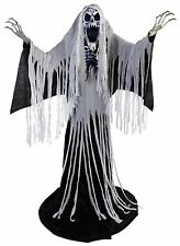 Halloween LifeSize Animated TOWERING WAILING SOUL REAPER 76'' Haunted Prop NEW
