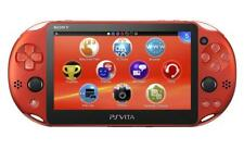 NEW SONY PS PlayStation Vita console Wi-Fi Model Metallic Red PCH-2000ZA26 Japan