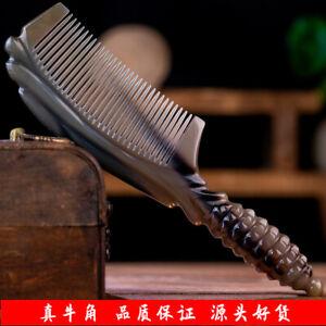 Natural Boutique Yak Horn Comb Handmade Horn Comb Hair Comb Massage/Scalp Brush