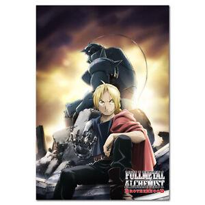 Fullmetal Alchemist Brotherhood Anime Poster - Key Art - High Quality Prints