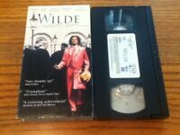 Wilde 1998 VHS Stephen Fry Jude Law
