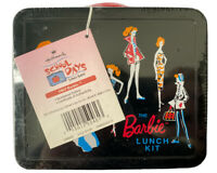 Sealed Limited Edition Vintage 1998 Mattel Hallmark The Barbie Tin Lunch Box Kit