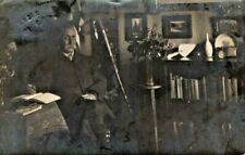 More details for real private photo of general mackinnon boer ww1 scottish clan sword tartan 1908