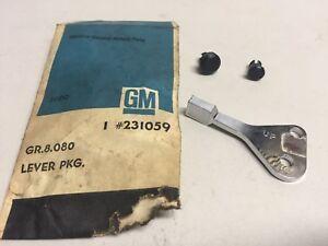 "GM 231059 1970-72 Oldsmobile Inside Hood Lock Control w/Rivets ""NOS"""