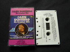FATS DOMINO GREATEST HITS NEW ZEALAND CASSETTE TAPE!