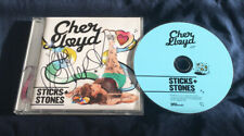 Cher Lloyd Sticks and Stones **Hand Signed** Autographed CD Album
