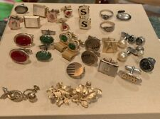 Vintage Men's Cufflinks lot misc jewelry