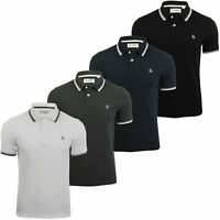 Mens Tipped Pique Polo T-Shirt by Original Penguin Short Sleeved