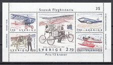 Schweden Block 12 postfrisch Geschichte der schwedischen Luftfahrt