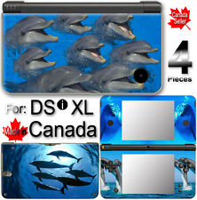 Dolphin Cute SKIN VINYL STICKER FOR NINTENDO DSi XL #1